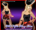 FANCY DRESS COSTUME # WILD WEST SALOON CAN CAN LADY MED 12-14